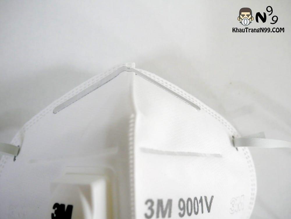 khẩu trang 3m 9001v kẹp mũi