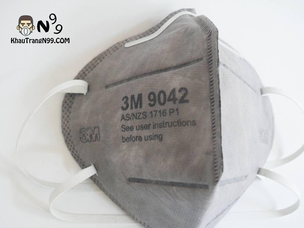 khẩu trang 3m 9042 chính hãng than hoạt tính