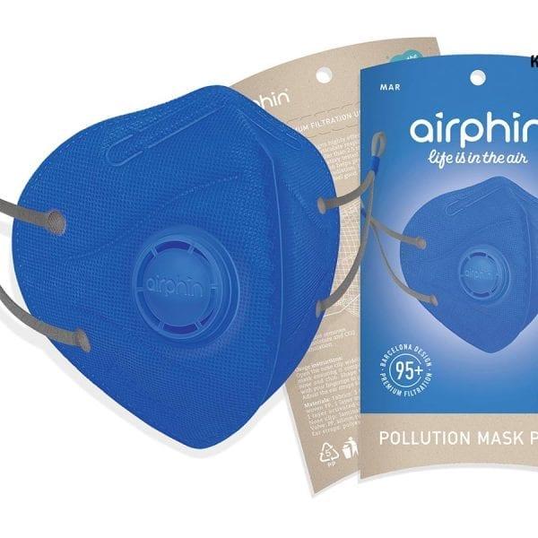 khẩu trang airphine người lớn màu xanh blue 1