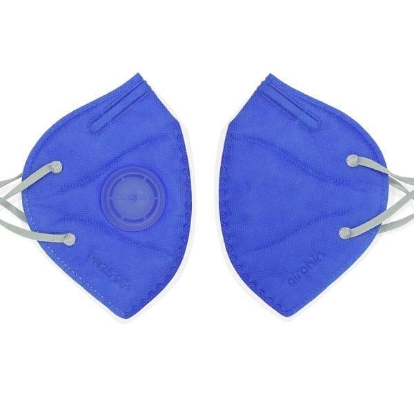 khẩu trang airphine người lớn màu xanh blue