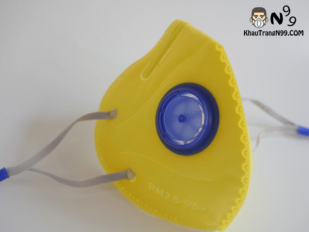 van-thở-1-chiều-khẩu-trang-airphin-màu-vàng