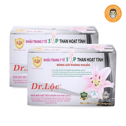 khẩu trang Dr Lộc