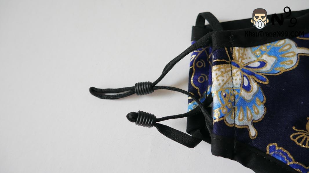 khẩu trang chống bụi air pollution mask butterfly - Khẩu trang N99 dây rút