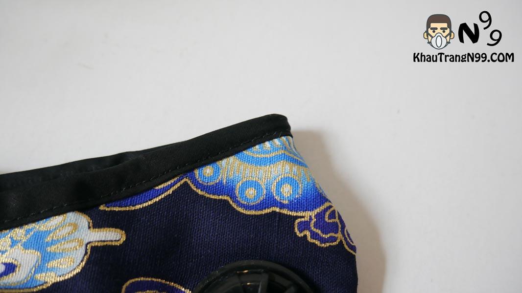 khẩu trang chống bụi air pollution mask butterfly - Khẩu trang N99 kẹp mũi