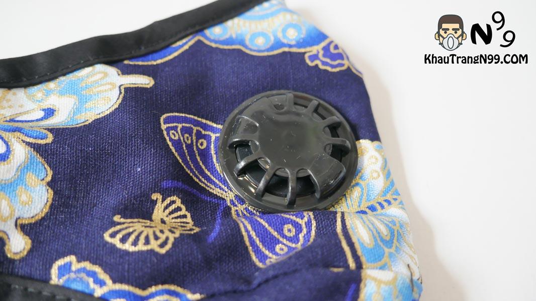 khẩu trang chống bụi air pollution mask butterfly - Khẩu trang N99 van thở