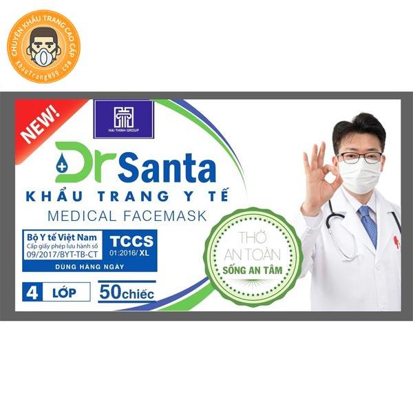 Khẩu trang Dr Santa