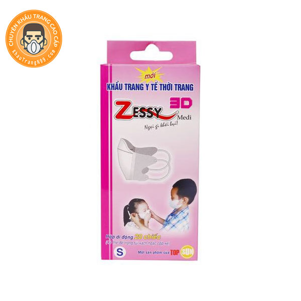 Khẩu trang y tế trẻ em Zessy