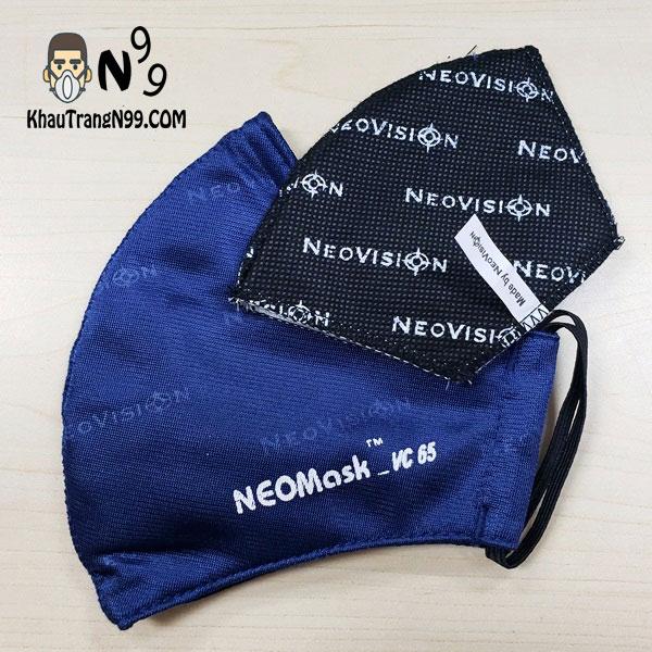 Khẩu trang NeoMask VC65 lọc bụi siêu mịn dây đeo tai
