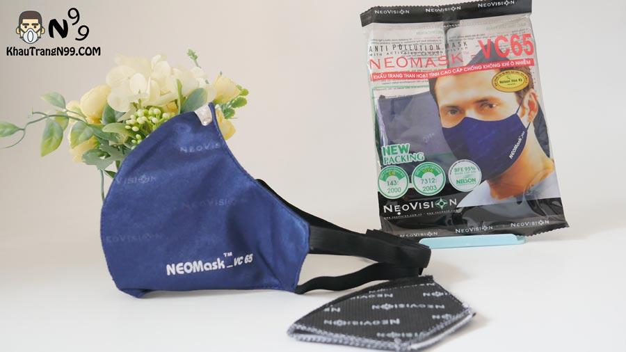 Khẩu-trang-than-hoạt-tính-NeoMask-VC65-quai-đeo-sau-gáy-khử-mùi-và-lọc-bụi-siêu-mịn-pm2