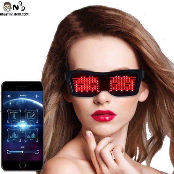 Mắt kinh đèn led điều khiển bằng điện thoại hơn 50 mẫu khác nhau + tự thiết kế theo ý muốn-ink
