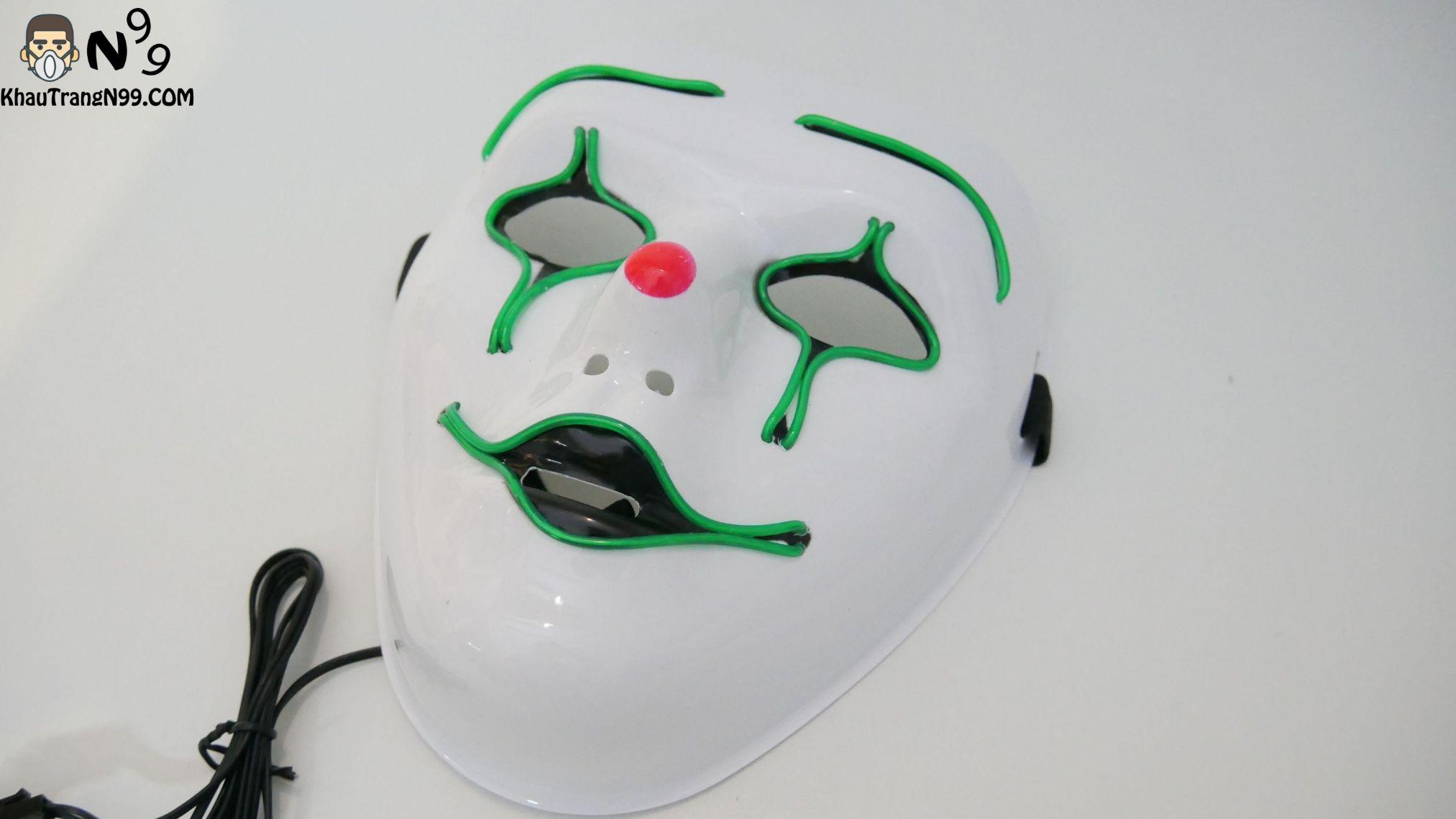 Mặt nạ hóa trang halloween - mặt chàng hề buồn (2)
