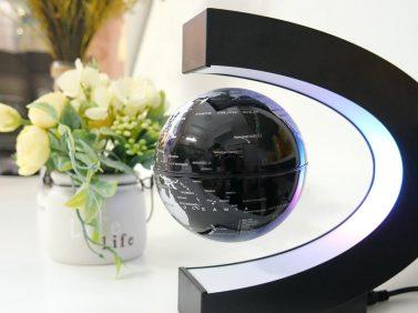 quả cầu lơ lửng flying led globe - Khẩu trang N99