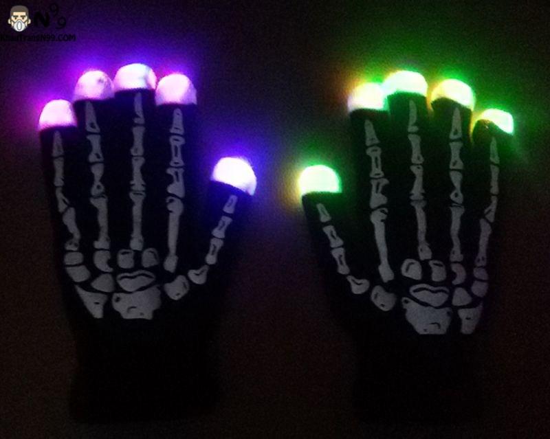 găng tay đèn led phát sáng