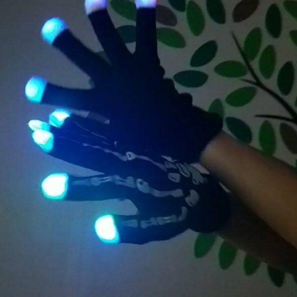 găng tay phát sáng