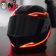 mũ bảo hiểm đèn led