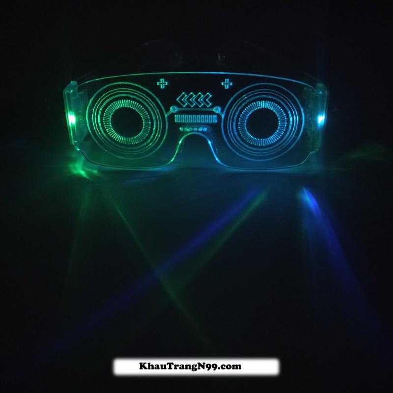 mắt kinh đèn led neon