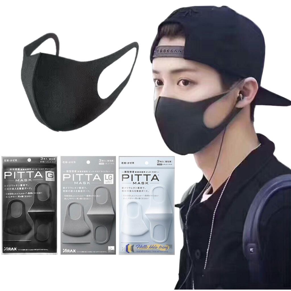 khẩu trang pitta mask