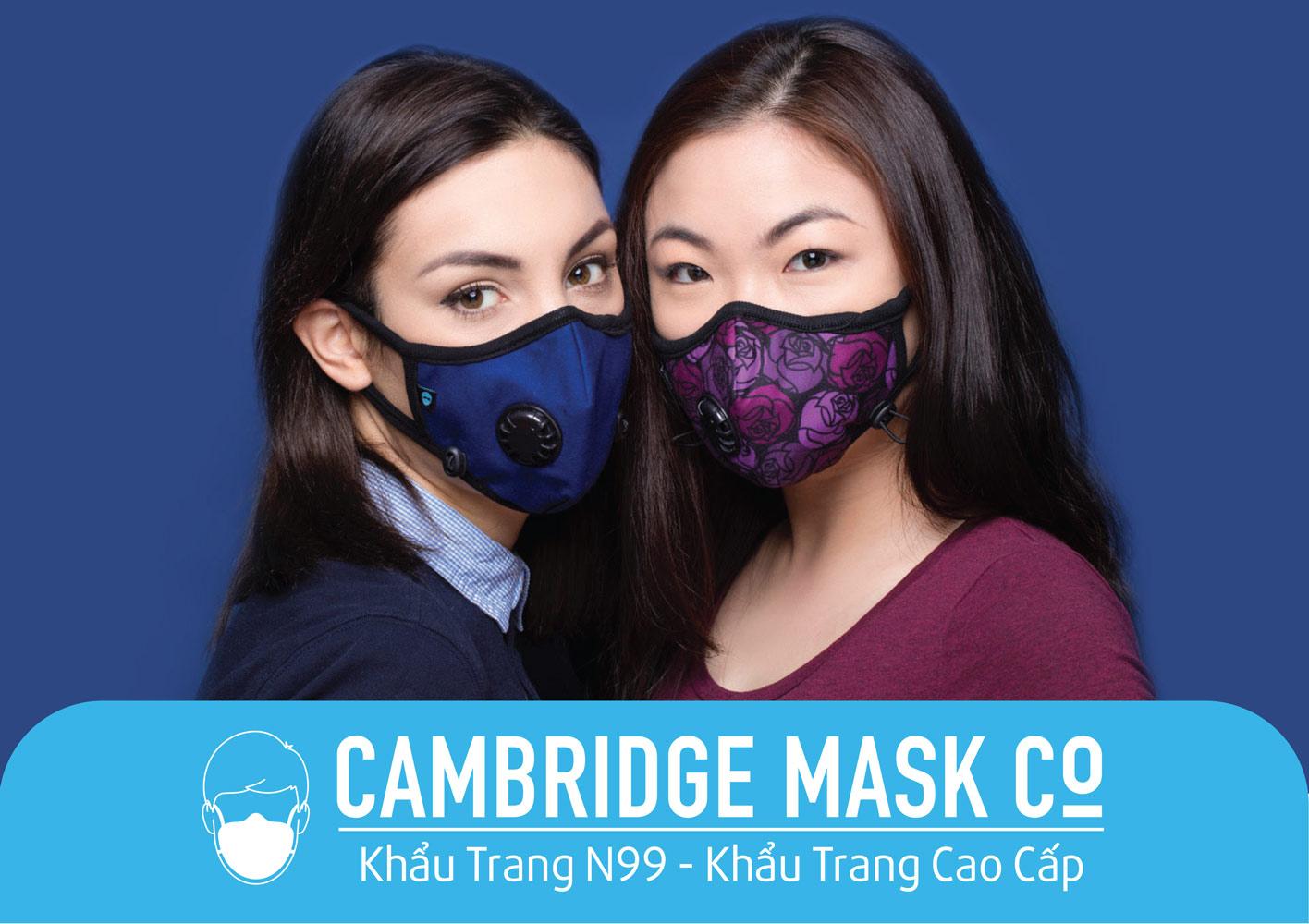 Đại lý phân phối khẩu trang cambridge mask