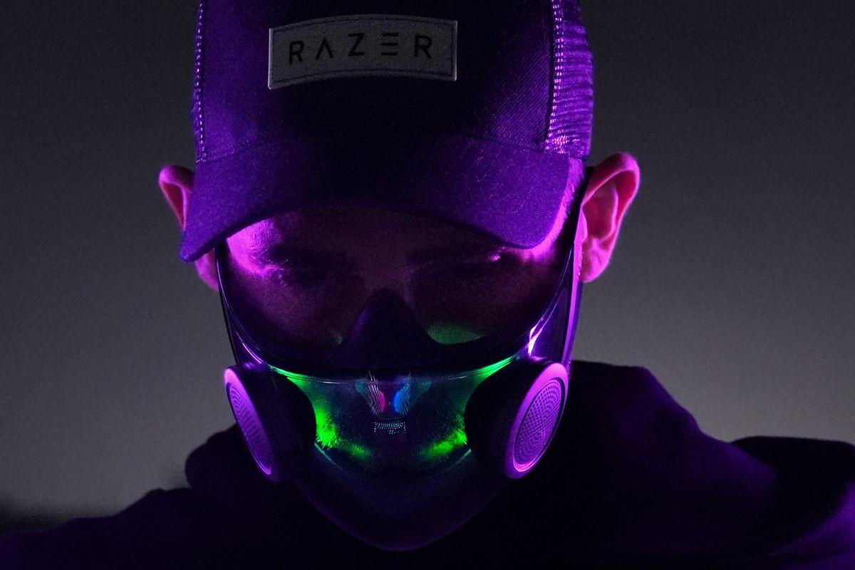 Khẩu trang Razer Project Hazel