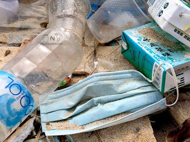 khẩu-trang-y-tế-sử-dụng-một-lần-gây-ô-nhiễm-môi-trường