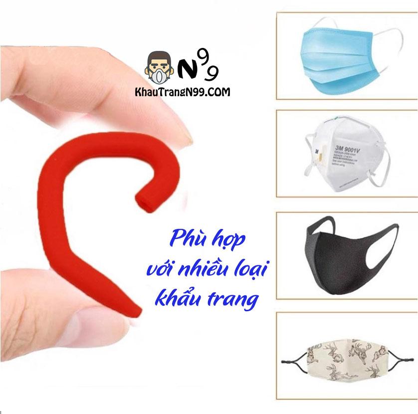 móc đeo bảo vệ vành tai cho các loại khẩu trang khỏi bị đau