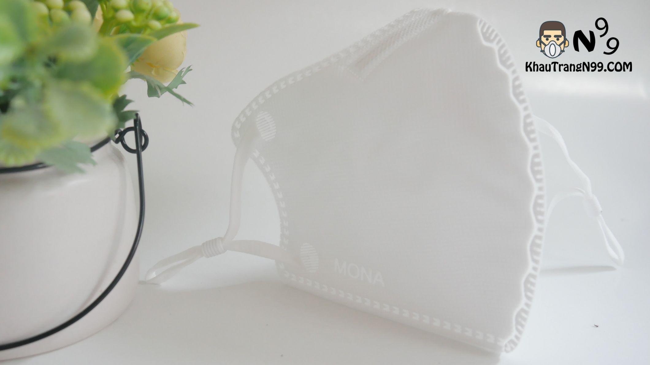Khẩu trang mona mask màu trắng n95 (3)