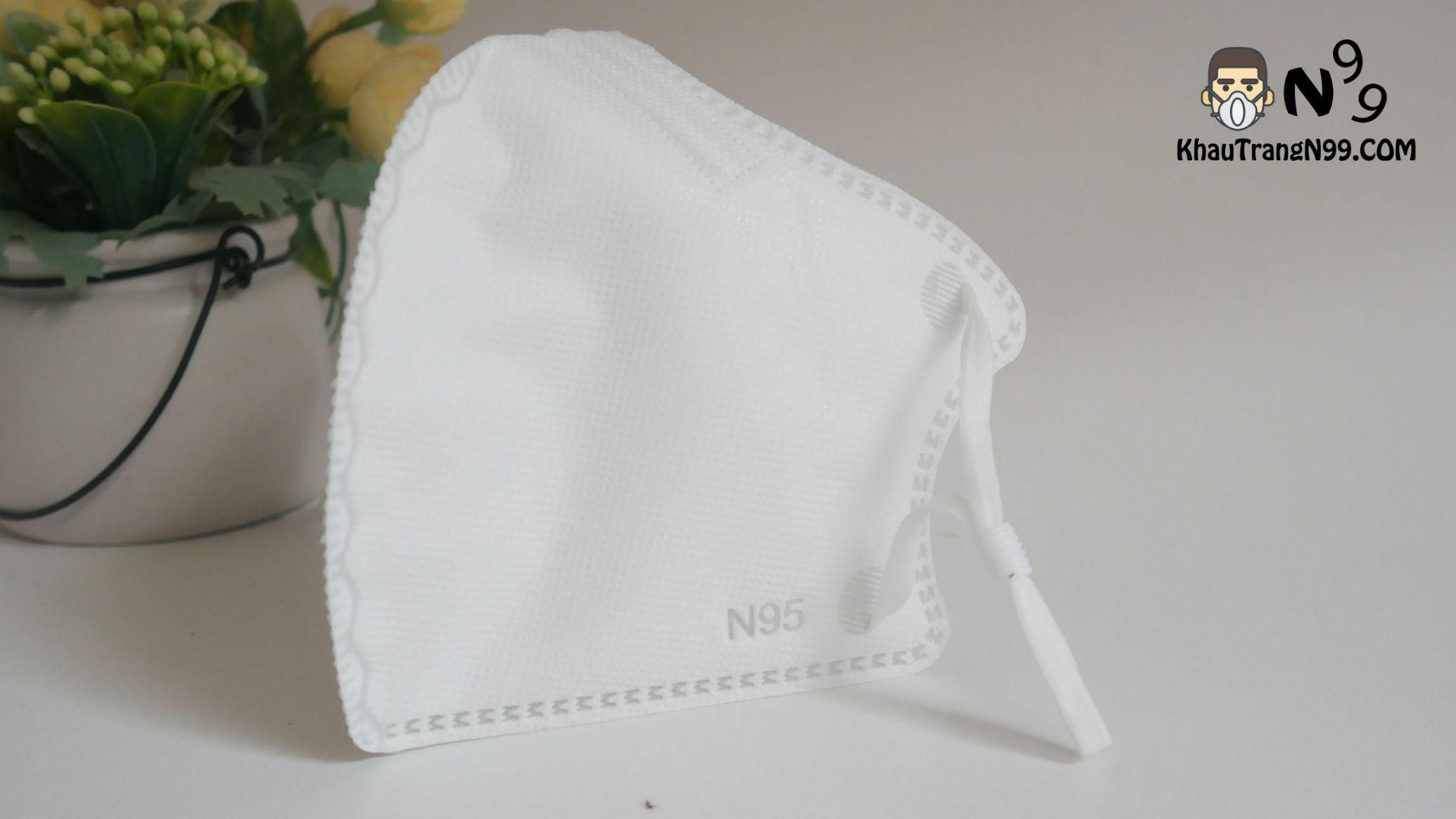 Khẩu trang mona mask màu trắng n95 (4)