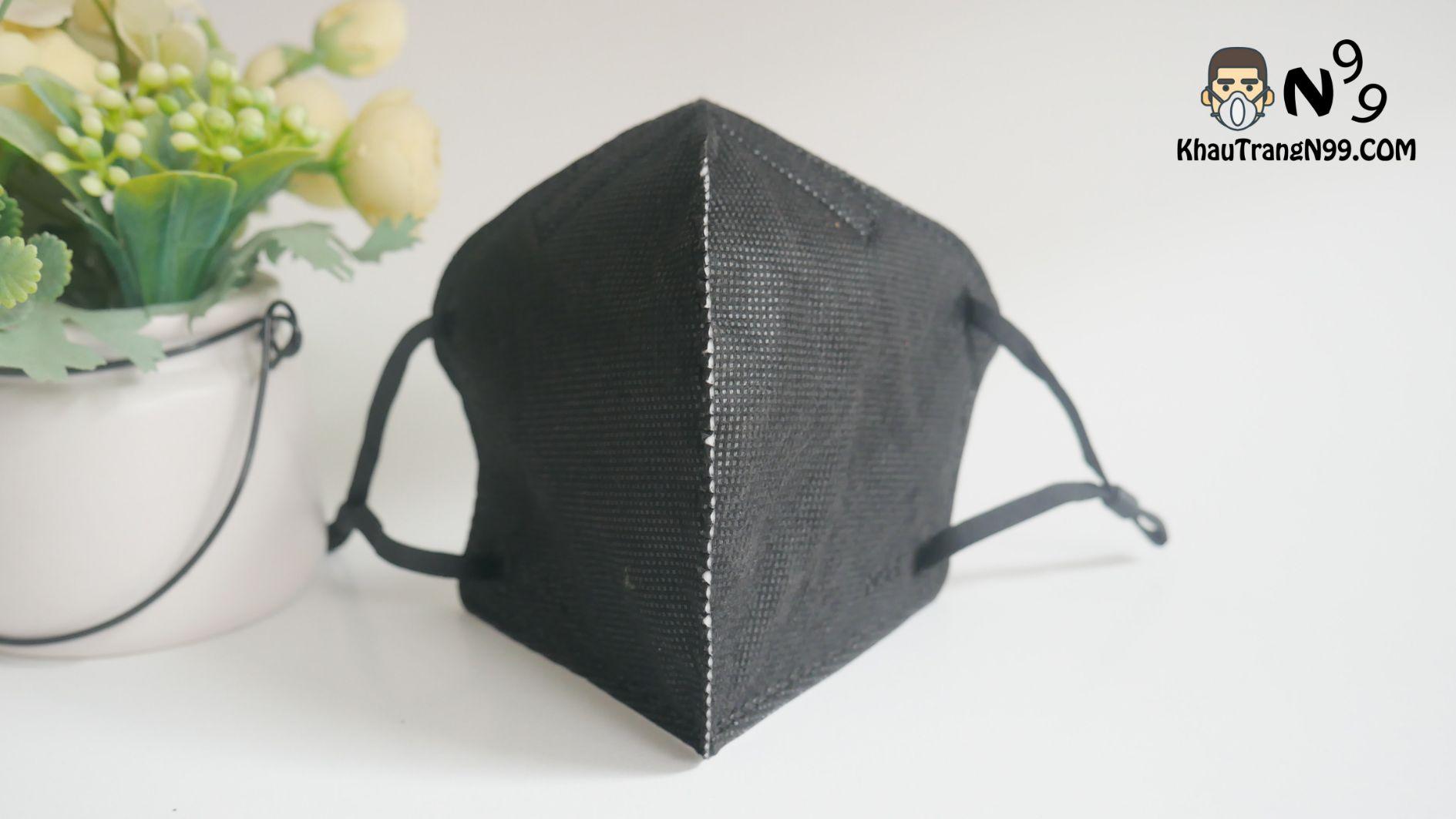 khẩu trang mona mask n95 công nghệ nano màu đen (4)