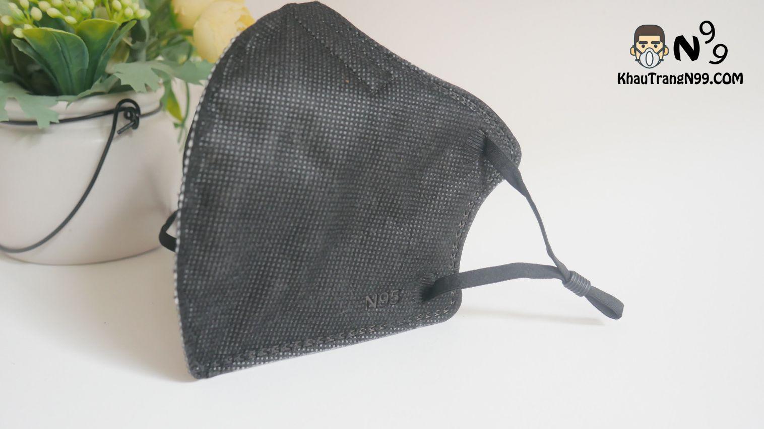 khẩu trang mona mask n95 công nghệ nano màu đen (5)