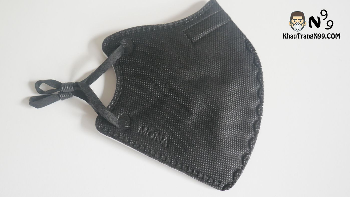 khẩu trang mona mask n95 công nghệ nano màu đen (7)