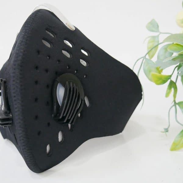 khẩu trang đi phượt deluxe màu đen (7)
