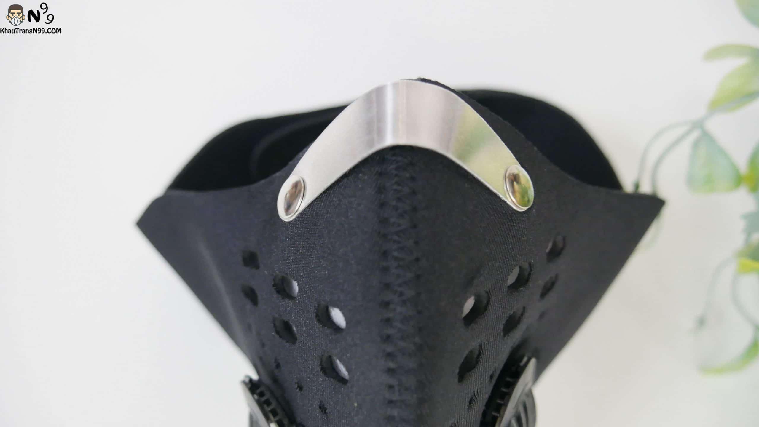khẩu trang đi phượt deluxe màu đen (8)